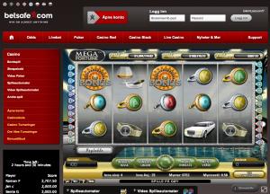En av de spillene med høyeste jackpot er Mega Fortune. Her hos Betsafe